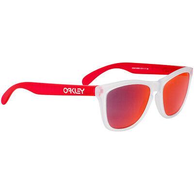 Oakley Frogskins Plastic Frame Torch Iridium Lens Unisex Sunglasses OO9013B355