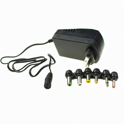 Epidemic AC DC Adapter Converter 6 Plugs 3 4.5 6 7.5 9 12V Power Charger 3.0A
