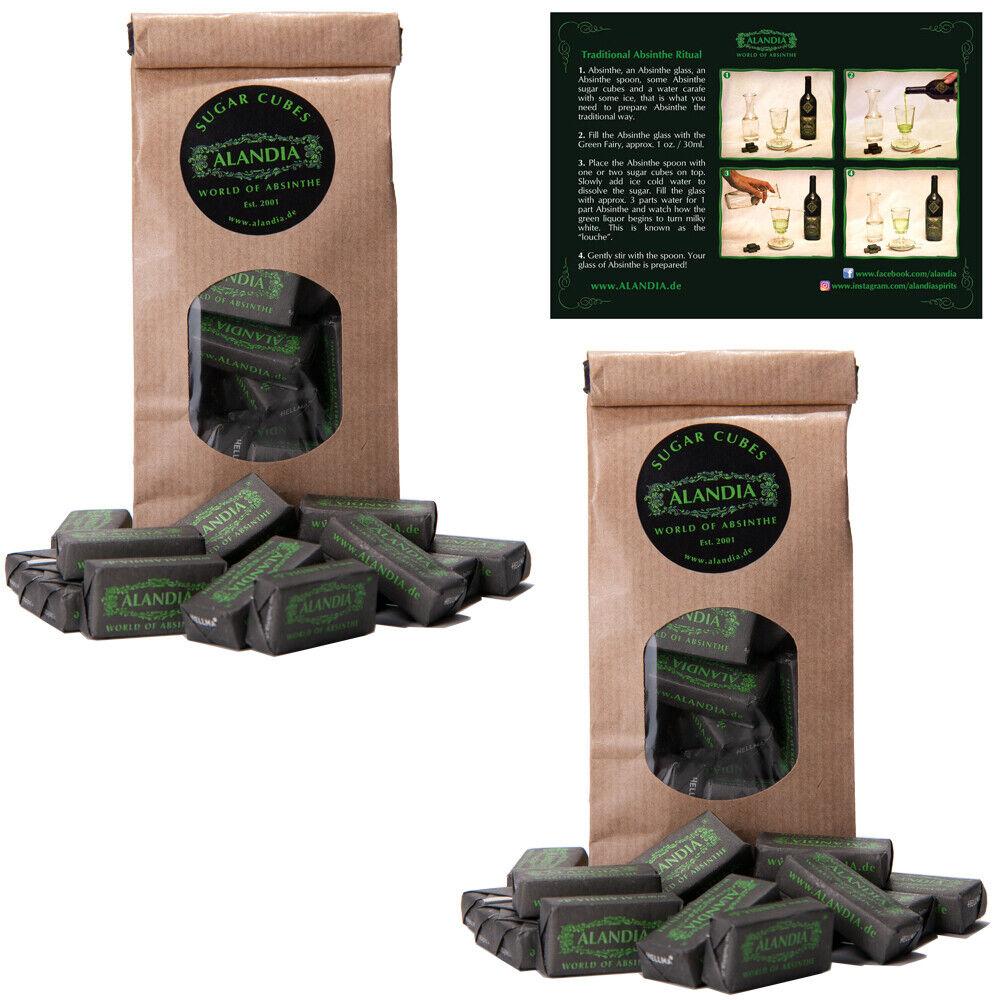 Absinth Zucker / Zuckerwürfel Set von ALANDIA™ | Die perfekte Ausstattung