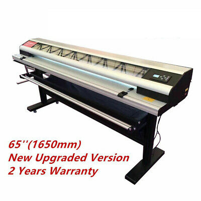 65 Inch Electric Rotary Paper Trimmer Semi-auto Advertising Materials Cutter
