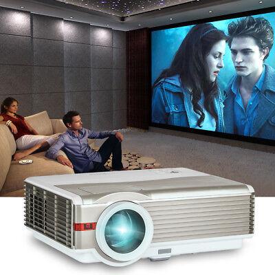 5000lumens 8000:1 HD 1080p Video Projector Home Theater Movie Game HDMI USB VGA