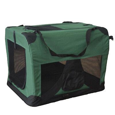 Faltbare Hundetransportbox Hundebox Transportbox Autotransportbox Faltbox NEU S