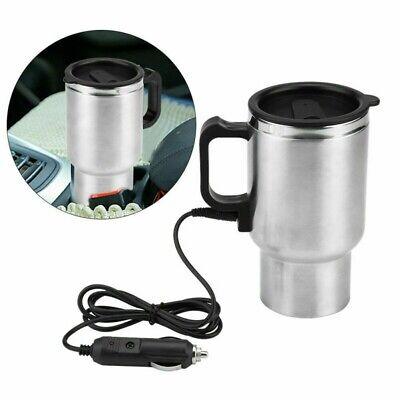Coche Eléctrico Calentador de Agua Taza Viaje Calefactado Café Hervidor for