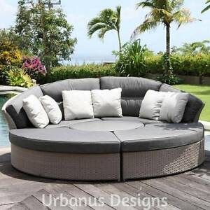 5 Piece Modern Outdoor Furniture Rattan Modular DayBed Lounge Set Kenmore Brisbane North West Preview