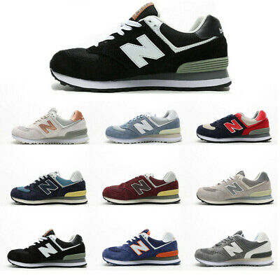 New Balance 574 Men and Women Classic Suede Shoes Textile Retro Casual Trainers