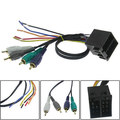 Best Car Stereo CD Player Wiring Harness Wire Adapter Plug For Aftermarket