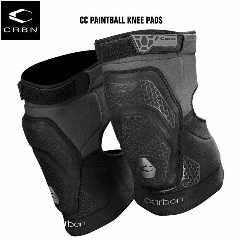 Carbon Paintball CC Knee Pads - Large
