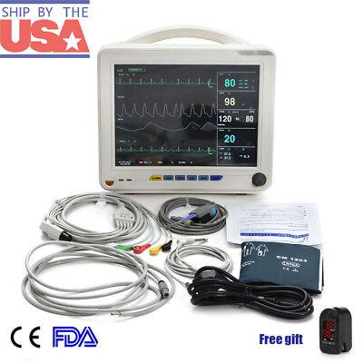Portable Vital Signs Patient Monitor 6-parameters Hospital Icu Ccu Monitor Usfda