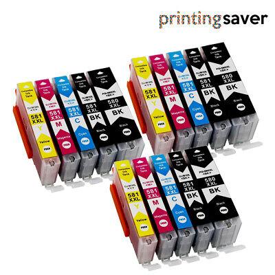 LOT Ink for Canon PGI580 CLI581 Pixma TR7550 TR8550 TS6150 TS6151 TS6152