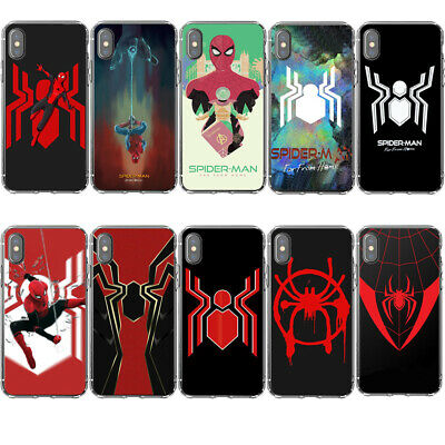 Phone case Iron Spiderman Into The Spider Verse Far From Home For iPhone