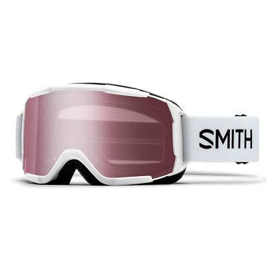 9a8a97a5b4c Smith Optics Daredevil Youth Ski Goggle (White Frame Ignitor Mirror Lens)