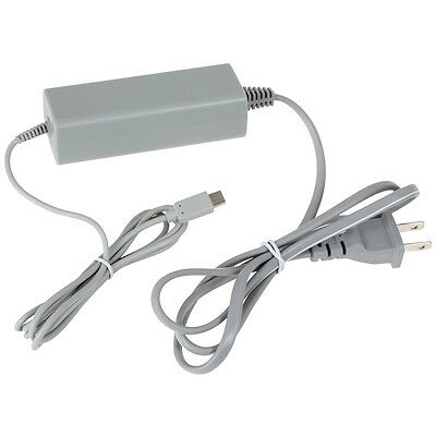 AC Power Supply Adapter Charger for Nintendo Wii U Gamepad Remote Controller