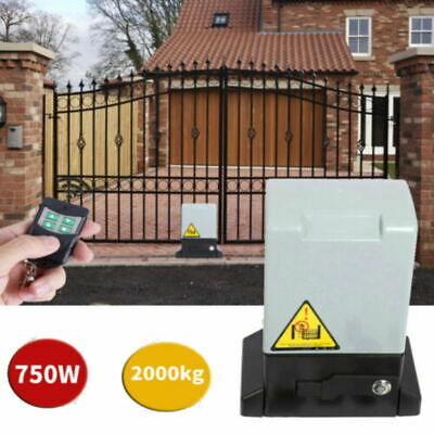 Electric Swing Gate Opener Automatic Operator + Remote Control&Infrared Probe
