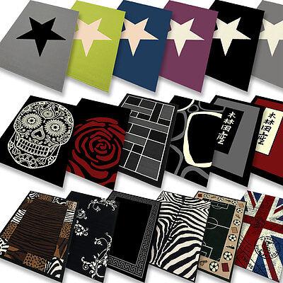 teppichlounge - Designer-Teppich verschied Größen, Muster und Farben Neu