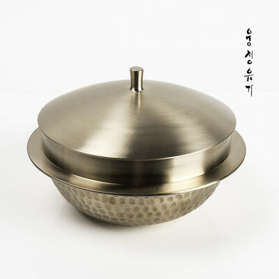 [by Artisan Jin-Ho Lee]Korean Bangjja Yugi Rice Pot - Large Size