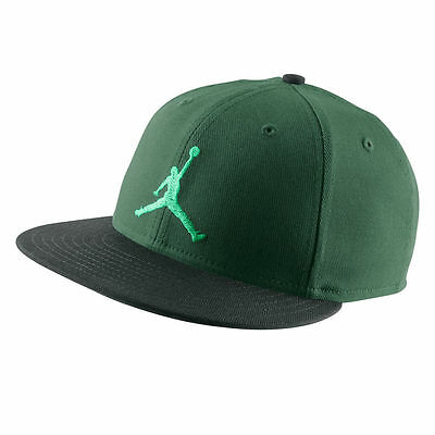 Nike Air Jordan Jumpman True Snapback Baseball Hat Green 513405-341 New With tag