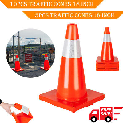 510pcs 18 Orange Traffic Cones Parking Construction Emergency Road Safety Cone
