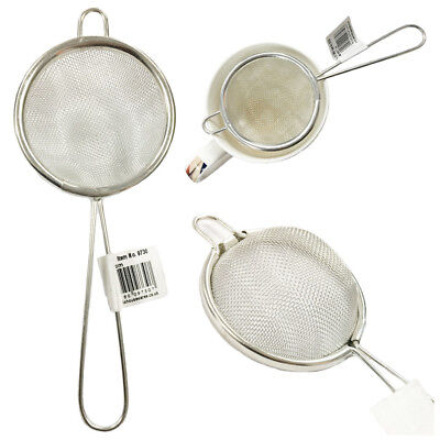 Tea Strainer Sieve Fine Mesh Sifter Strain Infuse Loose Leaf Filter Herbs Metal