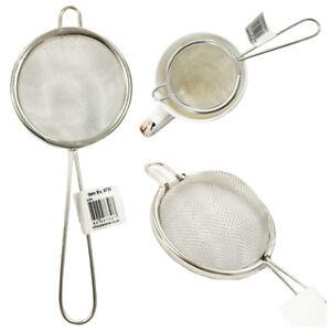 Tea Strainer Sieve Wire Mesh Filter Traditional Sifter Teamaker Kitchen Vintage