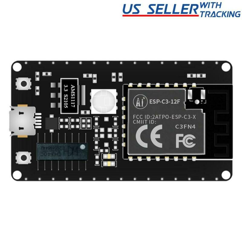 ESP-C3-12F ESP32-C3 RISC-V MCU 2.4GHz WIFI Bluetooth Development Board CH340