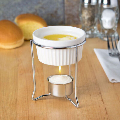 American Metalcraft Butter Warmer With 2 Oz Ramekin Candle Free Shipping Usa