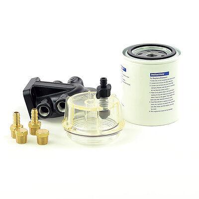 Kraftstofffilter Benzinfilter Bootsmotor mit Wasserabscheider Aussenborder