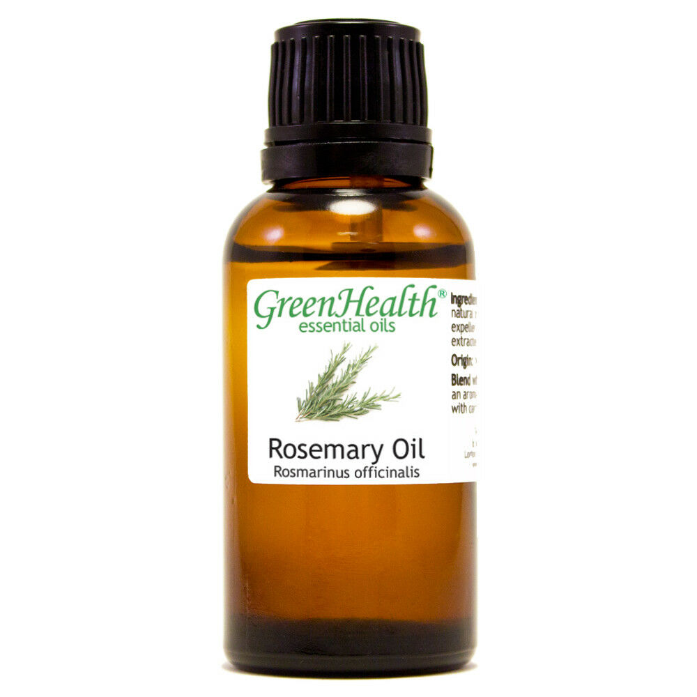 Essential Oils 30 mL (1 oz) - Pure & All Natural - Aromatherapy Oil Rosemary