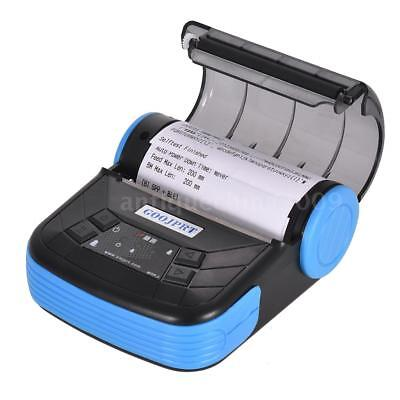 Mini Wireless 80mm Portable Bluetooth Thermal Receipt Printer For Windows Q3a2