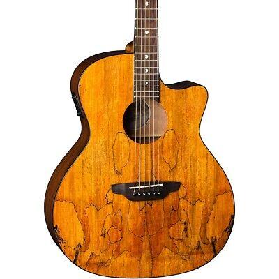Luna Guitars Gypsy Spalt Grand Auditorium Acoustic-Electric (Luna Gypsy Spalt Grand Auditorium Acoustic Electric Guitar)