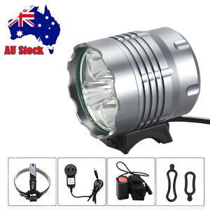 8000Lm-5x-CREE-XM-L-T6-LED-Rechargeable-Front-Bicycle-Light-bike-lamp-Headlight