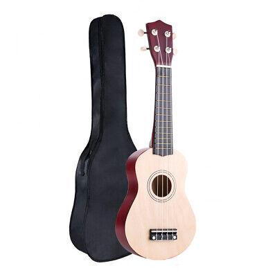"""Soprano 21"""" Ukulele Apelila Acoustic Mini Guitar Music Instrument + Gig Bag"""