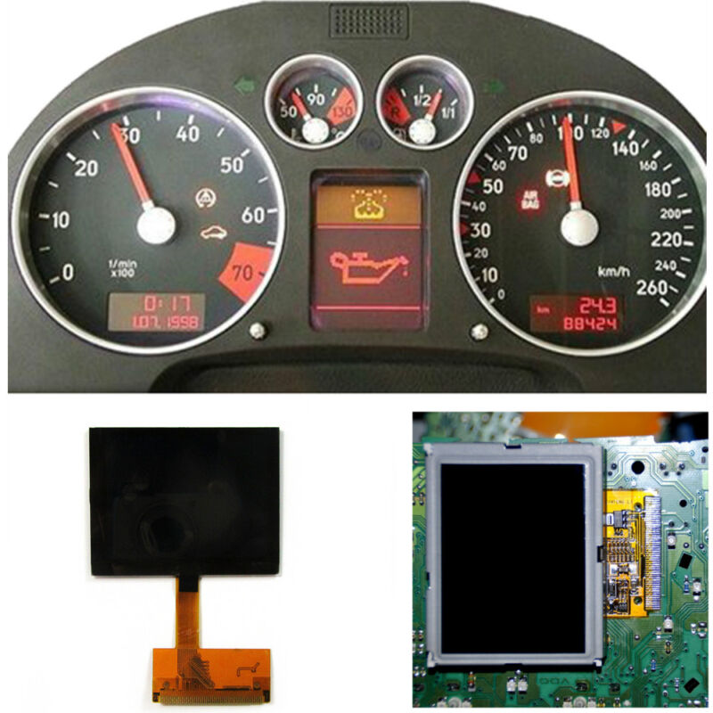 Display Instrument Dash Cluster Glass LCD Repair for Audi A3//S3 8L A6 C5 4B