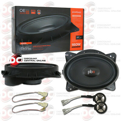 """POWERBASS OE69C-TY 6""""x 9"""" 2-WAY COMPONENT SPEAKERS FOR SELECT TOYOTA LEXUS SCION"""