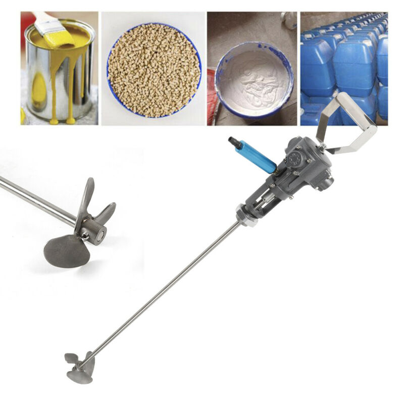 Pneumatic Paint coating Mixer Shaker Air Blender Stirrer Machine 5 Gallon 20L