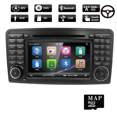 "Für Mercedes BENZ W164 X164 GL320 ML350 7"" Karte Autoradio mit USB GPS DVD 2 DIN"