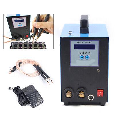 Jst-4 Handheld Spot Welder Welding Soldering Machine For Battery Packs 5kva 110v