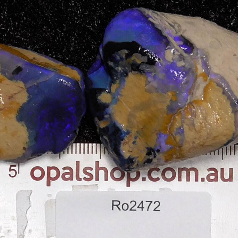 Beginner grade Lightning Ridge Black Opal Country, Opal Rough Parcel- Ro2472