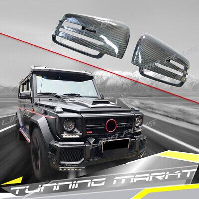 Carbon Fiber Spiegelkappen für Mercedes Benz G W463 Cabrio GLS X166 X164 M W166