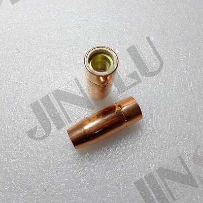 2 Pcs Mig Welding Nozzle 21-50 12 Fit Lincoln Magnum 100l Tweco Mini1