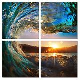 Canvas Print Painting Picture Wall Art Home Decor Landscape Vortex Poster Framed