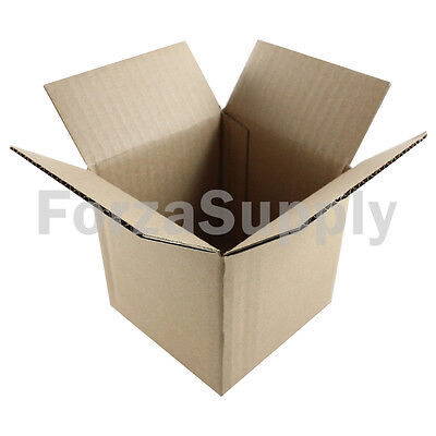 25 4x4x4 Ecoswift Brand Cardboard Box Packing Mailing Shipping Corrugated