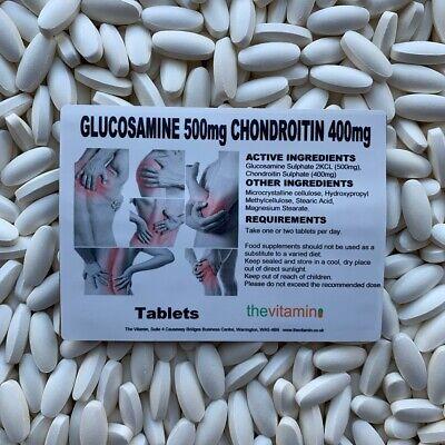 Die Vitamin Glukosamin 500MG Chondroitin 400MG 60 Tabletten - IN Einer Tüte