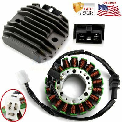 - Magneto Coil Stator & Regulator Rectifier For Yamaha YZF R1 1999-2001 R6 1999-02
