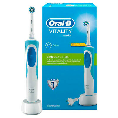 Cepillo de Dientes Electrico Recargable Braun Oral-B Vitality 2D White