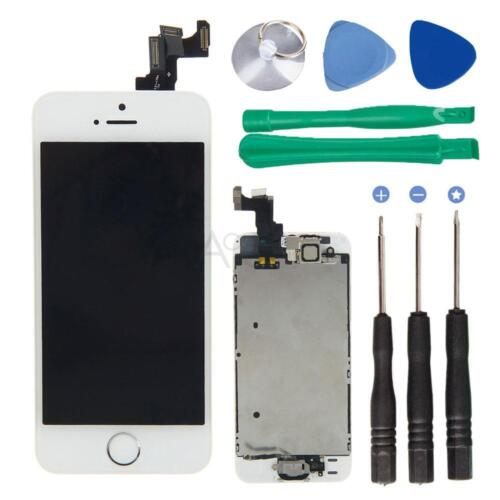 Replace Lcd Frame Touch Digitizer Screen Home Button Came...