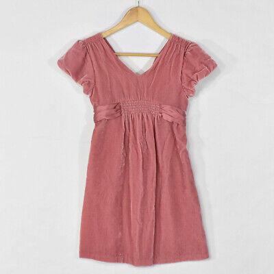 GAP Kids Girls Pink Velvet & Satin Formal Fancy Dress SIZE 12 XL - Girl Formal Dresses Size 12