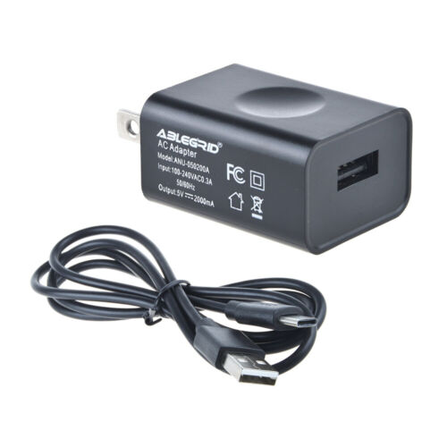AC Charger + USB Cable for Sony SRSXB43 SRS-XB43 Extra Bass Wireless Speaker