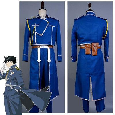 FullMetal Alchemist Cosplay Roy Mustang Uniform Costume