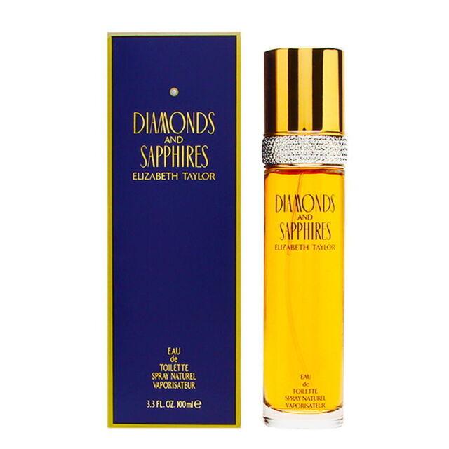 Elizabeth Taylor Diamonds and Sapphires Eau de Toilette EDT 100 ml 3.3 oz  New
