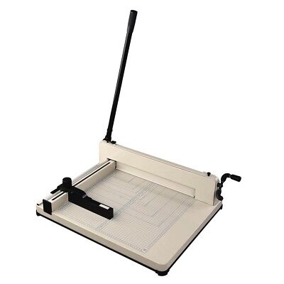 17 400 Sheet Heavy Duty Commercial Paper Cutter Machine Table Use Adjust